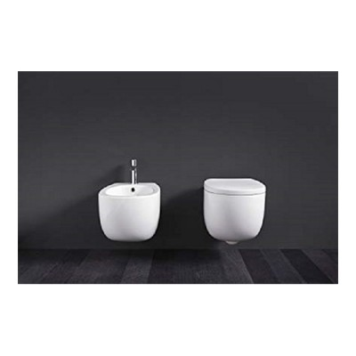 Toiletten  Nic Design Milk Toiletten  suspendiert 277 + 004 003 278 + 005 527